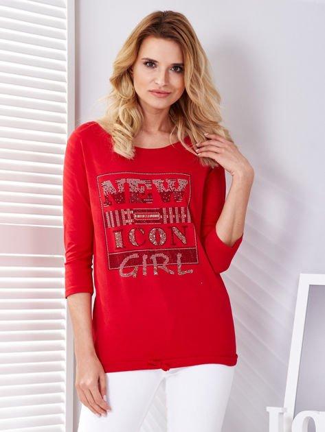 Czerwona bluzka New Icon