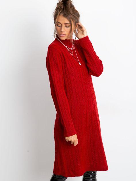 Czerwona sukienka Evermore                              zdj.                              3