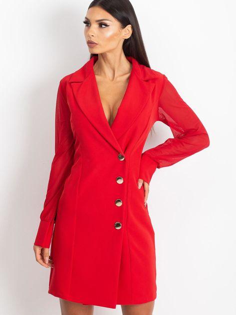 Czerwona sukienka Master                              zdj.                              1
