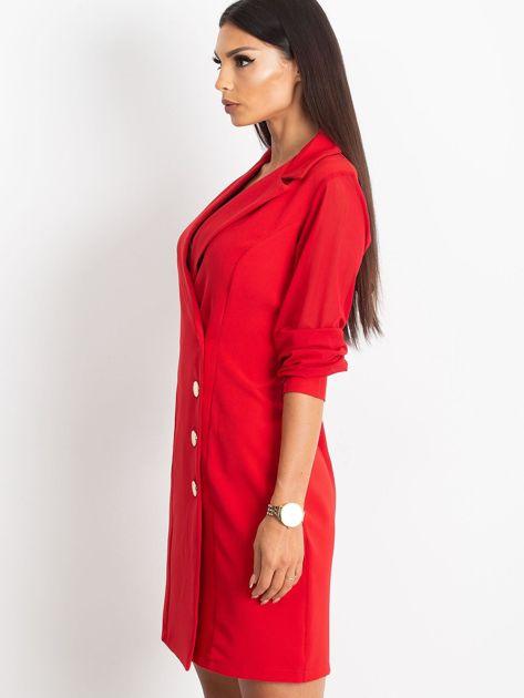 Czerwona sukienka Master                              zdj.                              3