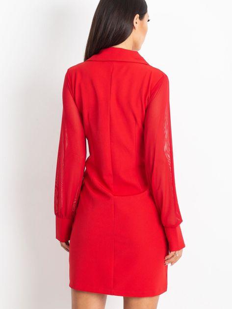 Czerwona sukienka Master                              zdj.                              2