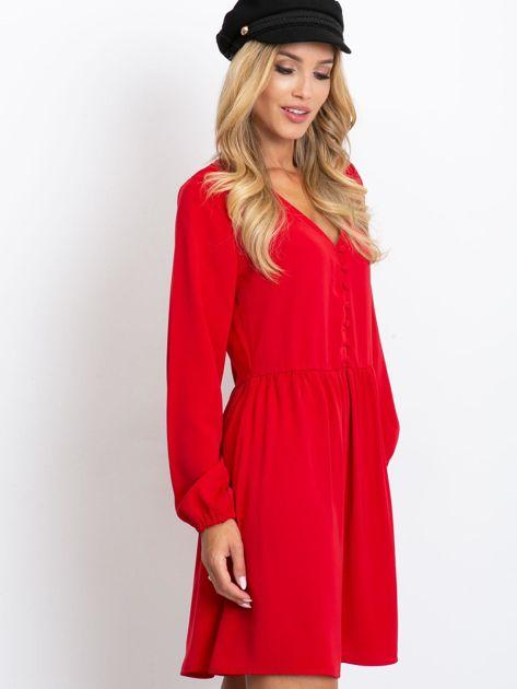 Czerwona sukienka Reason                              zdj.                              3