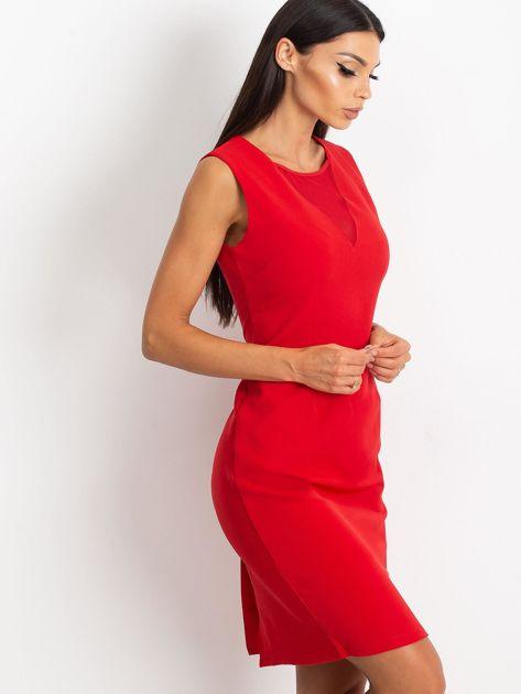 Czerwona sukienka Theme                              zdj.                              3
