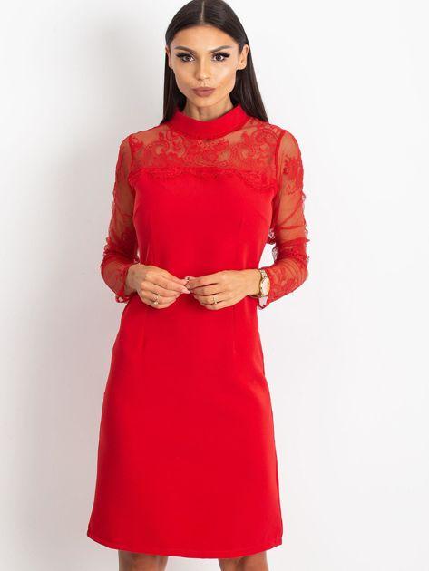 Czerwona sukienka Time                              zdj.                              3