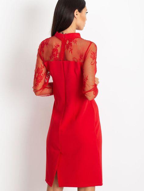Czerwona sukienka Time                              zdj.                              2