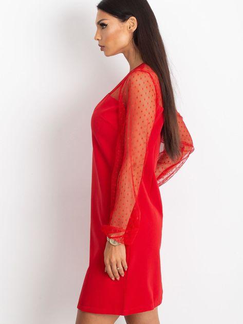 Czerwona sukienka Vanity                              zdj.                              3