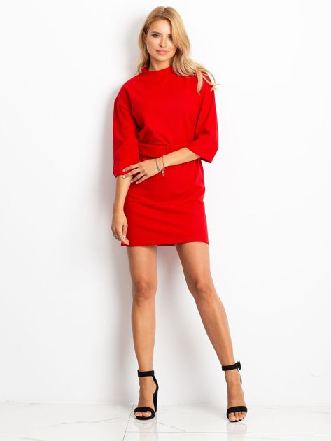 Czerwona sukienka Winner                              zdj.                              4