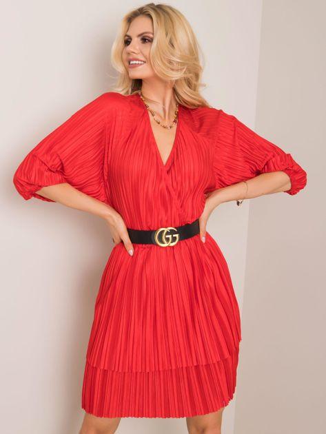 Czerwona sukienka Wonder RUE PARIS