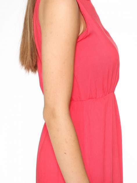 Czerwona sukienka w stylu greckim                                  zdj.                                  7