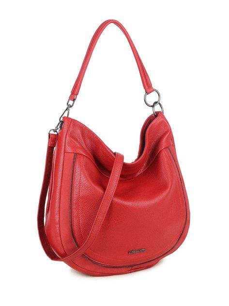 Czerwona torba na ramię LUIGISANTO