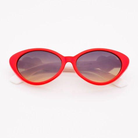 Czerwone Dziecięce Okulary przeciwsłoneczne                              zdj.                              1