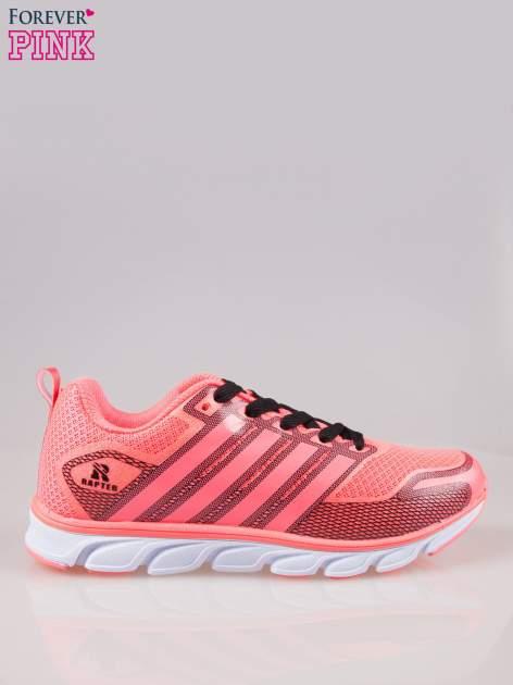 Czerwone buty sportowe textile Lovegame z elastyczną podeszwą                                  zdj.                                  1