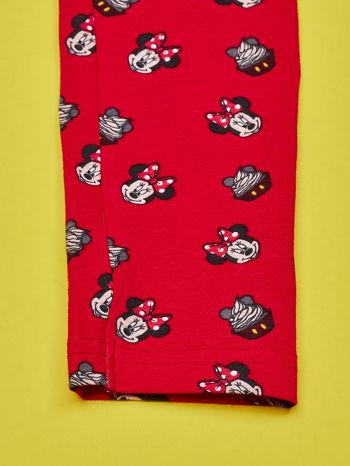 Czerwone legginsy dla dziewczynki MINNIE MOUSE                                  zdj.                                  4