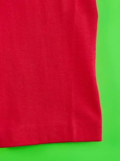 Czerwone legginsy dla dziewczynki ŚWINKA PEPPA                                  zdj.                                  4
