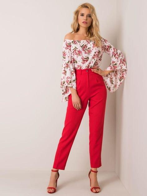 Czerwone spodnie Jolene RUE PARIS