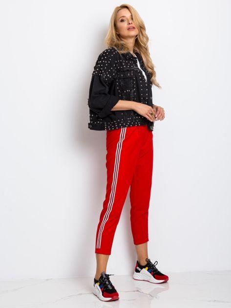 Czerwone spodnie Orinoco                              zdj.                              4