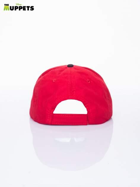 Czerwony chłopięca czapka z daszkiem MUPPETY                                  zdj.                                  3