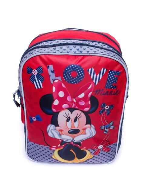 Czerwony plecak szkolny DISNEY Myszka Minnie                                  zdj.                                  6