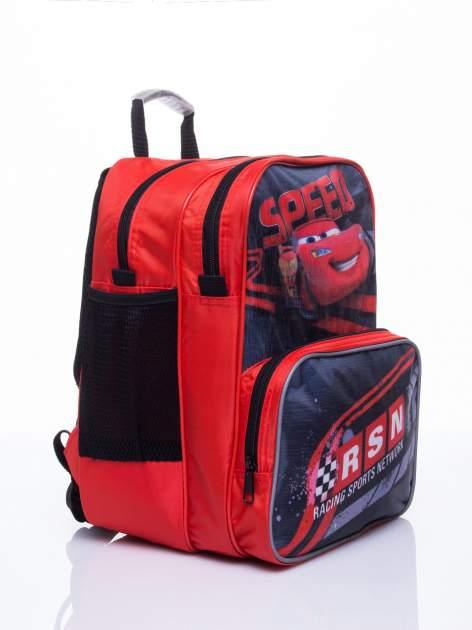 Czerwony plecak szkolny PIXAR Auta                                  zdj.                                  3