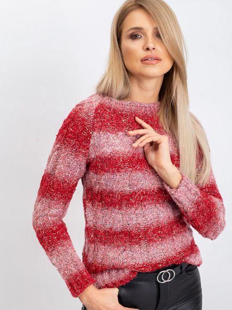 Czerwony sweter Betty                              zdj.                              5