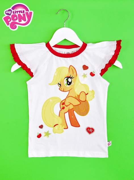 Czerwony t-shirt dla dziewczynki MY LITTLE PONY                                  zdj.                                  1