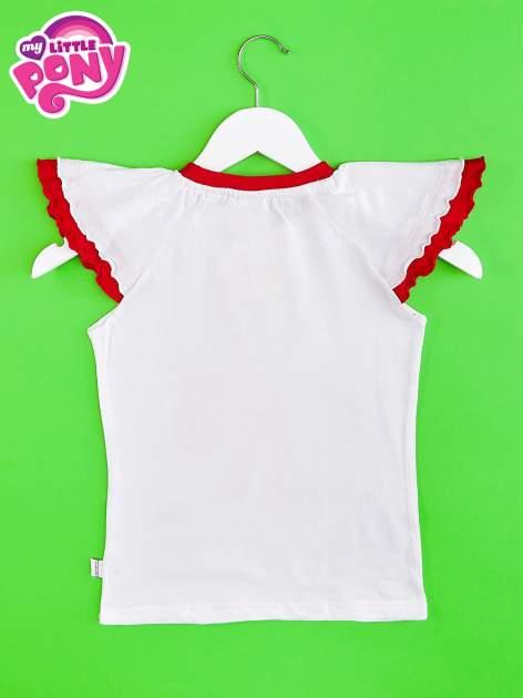 Czerwony t-shirt dla dziewczynki MY LITTLE PONY                                  zdj.                                  2