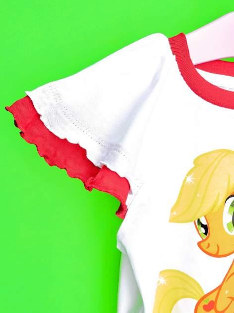 Czerwony t-shirt dla dziewczynki MY LITTLE PONY                                  zdj.                                  6