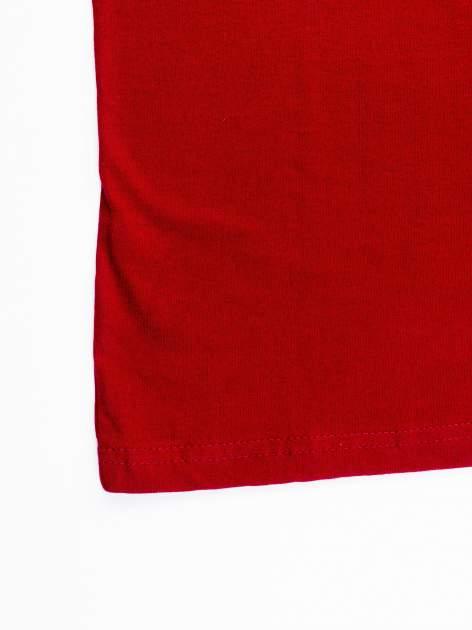 Czerwony t-shirt męski z nadrukiem FC BARCELONA                                  zdj.                                  11