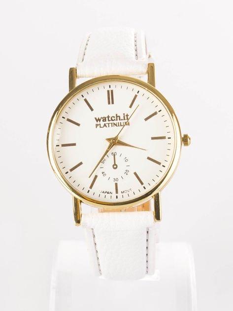 Damski zegarek biały                              zdj.                              1