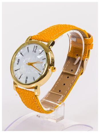 Damski zegarek z dużą i wyraźną perłową tarczą CAMEL                                   zdj.                                  2