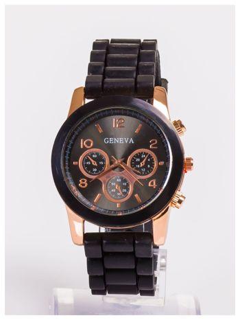 Damski zegarek z ozdobnym tachometrem, na wygodnym pasku
