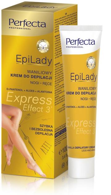 Dax Cosmetics Perfecta EpiLady Waniliowy krem do błyskawicznej depilacji 100ml