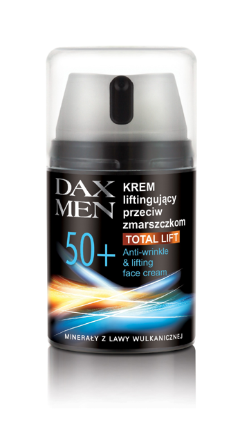"Dax Cosmetics Perfecta Men Krem liftingujący 50+"""