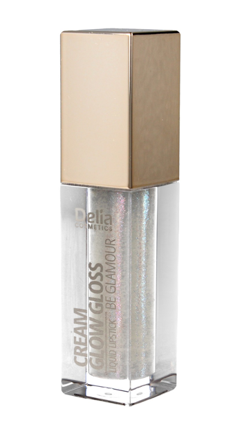 """Delia Cosmetics Be Glamour Pomadka w płynie Cream Glow Gloss nr 501 Hey You 5ml"""""""