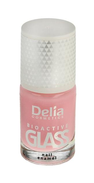 "Delia Cosmetics Bioactive Glass Emalia do paznokci nr 01  11ml"""
