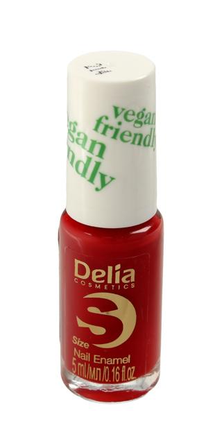 """Delia Cosmetics Vegan Friendly Emalia do paznokci Size S nr 214 Lady in Red  5ml"""""""