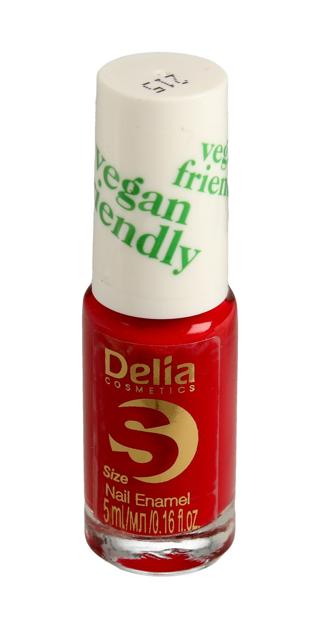 "Delia Cosmetics Vegan Friendly Emalia do paznokci Size S nr 215 My Secret  5ml"""