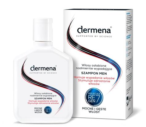"""Dermena Supported By Science Men Szampon hamujący wypadanie włosów  200ml"""""""