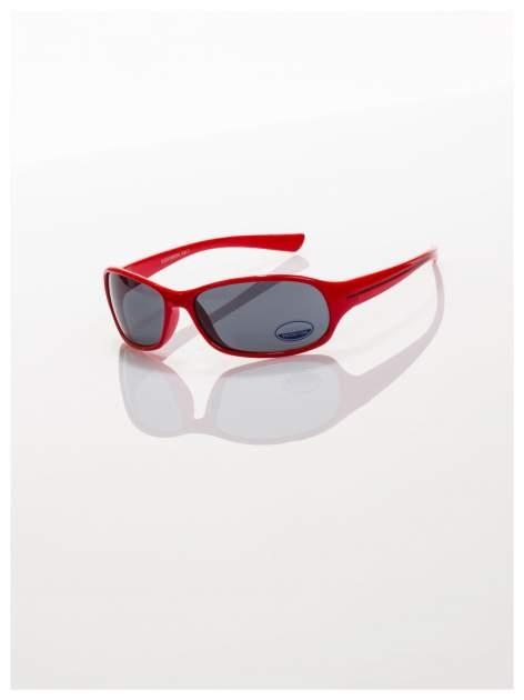 Dziecięce czerwone okulary przeciwsłoneczne z filtrami