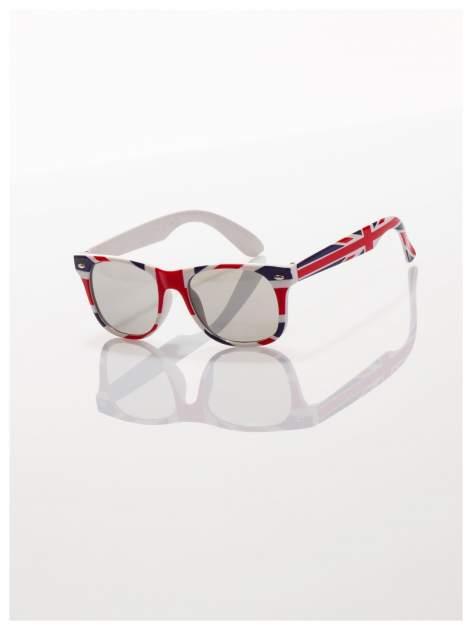 Dziecięce okulary z klasyczną oprawką WAYFARER NERD z filtrami odporne ne wyginania