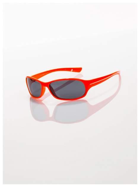 Dziecięce pomarańczowe okulary z filtrami                                  zdj.                                  1