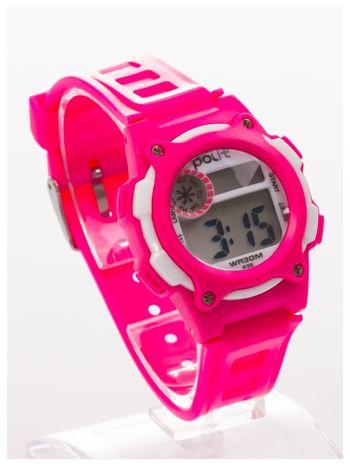 Dziecięcy zegarek sportowy wielofunkcyjny. Łatwy w obsłudze. Idealny dla dziecka. Wodoodporny. 2 kolory podświetlenia                                  zdj.                                  2