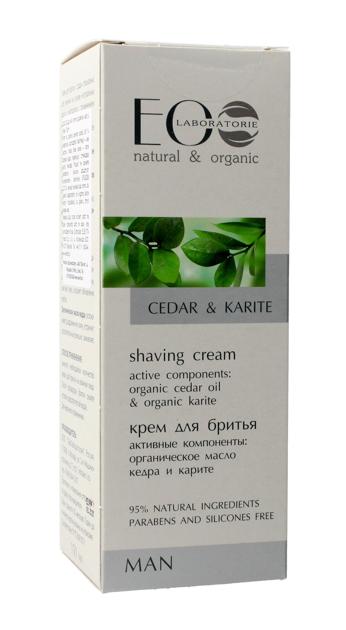 """EOLaboratorie Man Krem do golenia Cedar & Karite  150ml"""""""