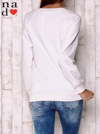 Ecru bluza z motywem dłoni                                  zdj.                                  4