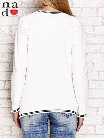 Ecru bluza z napisem SIEMA                                  zdj.                                  2