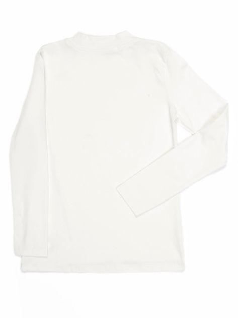 Ecru bluzka dziecięca z półgolfem                               zdj.                              18