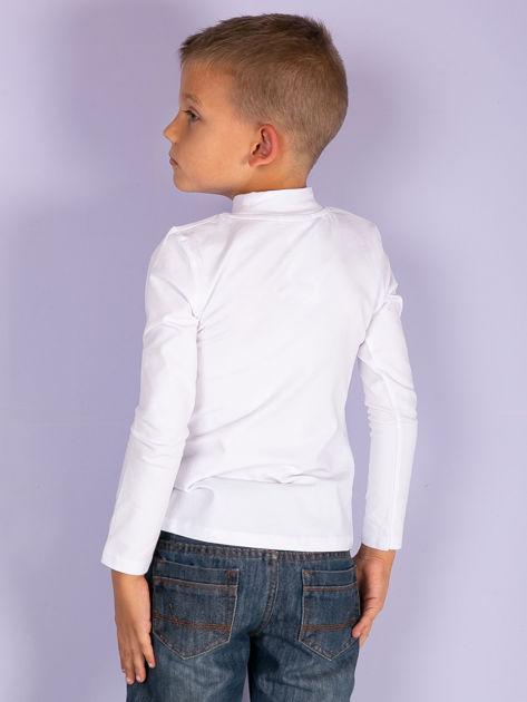 Ecru bluzka dziecięca z półgolfem                               zdj.                              20