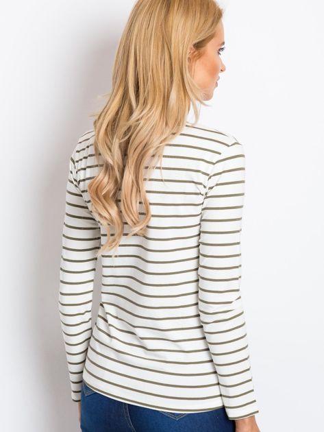 Ecru-khaki bluzka Glade                              zdj.                              2
