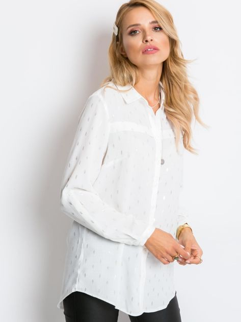 Ecru koszula Soft                              zdj.                              3