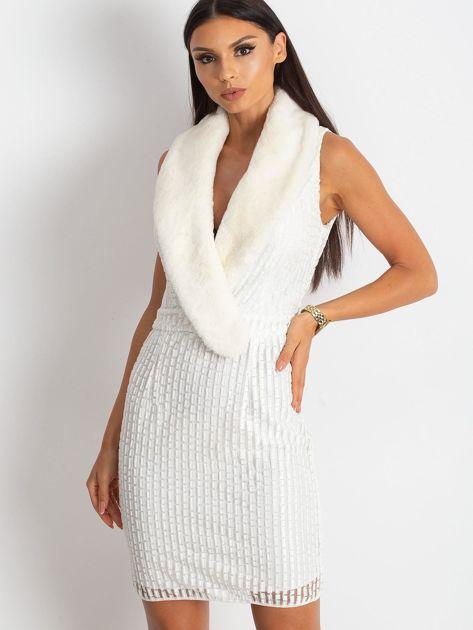 Ecru sukienka Boost                              zdj.                              1